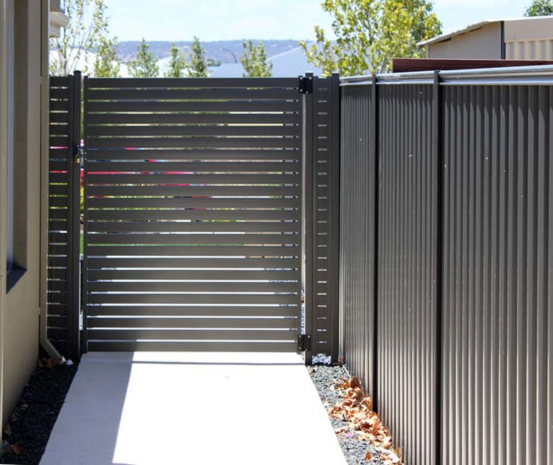 Slatted Fencing in Perth from Crazy Pedros Fencing