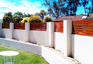 Wood-look Aluminium Fencing in Perth, WA